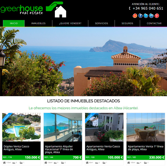 Software para inmobiliarias inmopc software gesti n inmobiliaria y web - Paginas web de decoracion ...